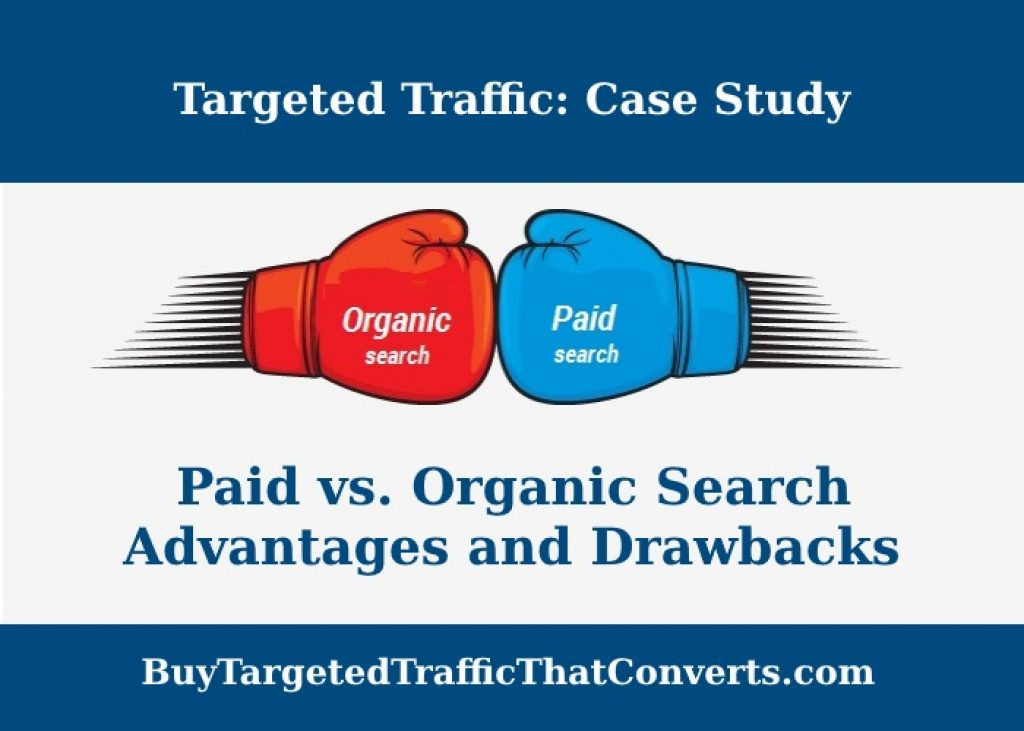 organic search vs paid search